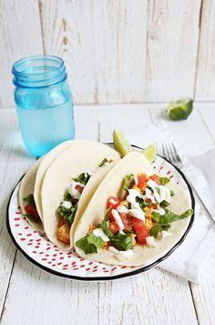 Easy sofritas tacos