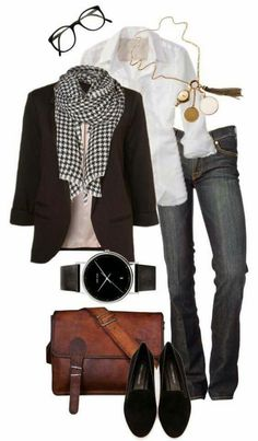 No scarf and drop the mans watch... Women's Jeans - amzn.to/2i8XN7s Clothing, Shoes & Jewelry - Women - women's jeans - http://amzn.to/2jzIjoE