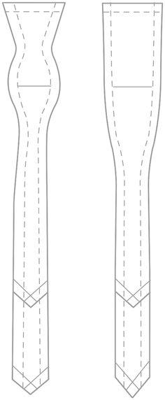 foam bow template race costume