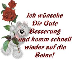 """(notitle) Etwa Gesundheits German for """"good health. Create Your Own Card, Bear Pictures, Up Quotes, Get Well Soon, Wishes For You, Healthy Tips, Stamps, Humor, Smileys"""