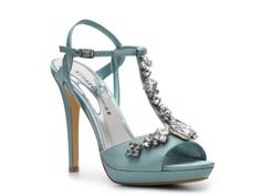 Audrey Brooke Crystal Sandal - For my friend Laura - in White for her wedding!