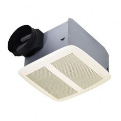 Broan QTXEN150 Energy Star Rated For 6 Inch Ducting Bathroom Exhaust Fan