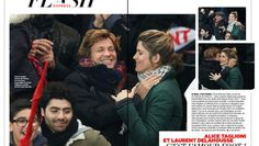 Laurent Delahousse et Alice Taglioni: l'amour au grand jour