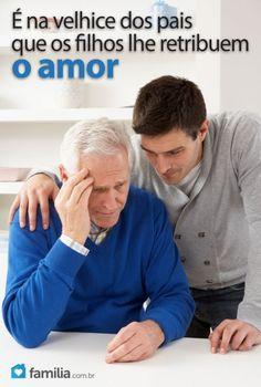 Familia.com.br | Como lidar com um pai idoso que tem a doença de Alzheimer #Alzheimer
