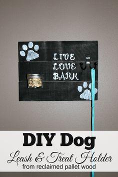 DIY Dog Leash and Treat Holder #FeedDogsPurina [ad] @target