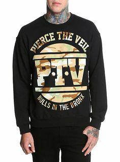 Pierce The Veil Bulls In The Bronx Crewneck Sweatshirt | Hot Topic