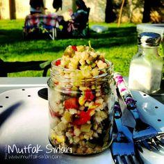 Buğday Salatası – Mutfak Sırları – Pratik Yemek Tarifleri Jello Pretzel Salad, Strawberry Fluff, Bacon Ranch Pasta Salad, Cookie Dough Cheesecake, Ambrosia Salad, How To Make Salad, Summer Salads, Salad Recipes, Food And Drink