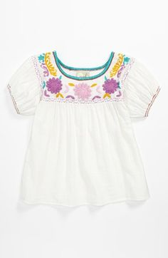 Peek 'Ashley' Top (Toddler, Little Girls  Big Girls) available at #Nordstrom