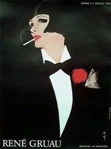 - art deco fashion illustrations - this is divine