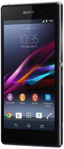 """cool Sony Xperia Z1 - Smartphone libre Android (pantalla 5"""", cámara 20.7 Mp, 16 GB, Quad-Core 2.2 GHz, 2 GB RAM), negro (versión europea)"""
