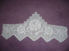 nice Renkli Pike Takımı Örnekleri Crochet Art, Filet Crochet, Crochet Doilies, Romanian Lace, Lace Making, Diy And Crafts, Lily, Knitting, Pattern
