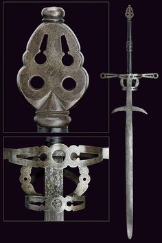 Two-handed Sword      Dated: first quarter of the 17th century     Culture: Spanish
