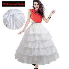BiBOSS Petticoat Skirt Puffy 4 Hoops Skirt Crinoline Unde... https://www.amazon.com/dp/B07BB81SBW/ref=cm_sw_r_pi_dp_U_x_05dTAbQSTTHA1