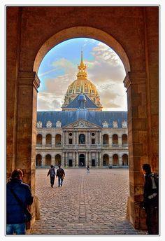 Les Invalides, Paris France