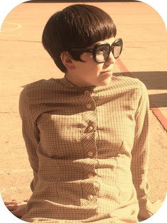 Who said bowl cuts were uncool? .. Not me!