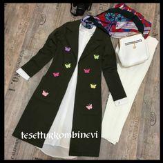 Özel tasarım butterfly ceketlerimiz tanıtım amaçlı kampanyada  sadece 75tl  İki iplik 95cm boy  Bedenler 36 -38-40-42 Kapida odemeli Kargo bedavaaa  #Siparis icin #whatsapp  05385718719  #yenibegeni #yeniurun #yenisezon #kampanya #dugun #soz #kombin #islam #tesettur #musluman #giyim #davet #yelek #gomlek  #hijab #elbise #tunik Kampanyalar icin  @tesetturkombinevioutlet