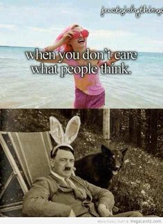 When did Hitler wear this bunny ears? Bad Humor, Bad Memes, Dankest Memes, Funny Images, Funny Pictures, Terrible Jokes, What Do You Meme, History Jokes, Dark Humour Memes