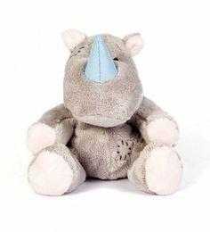 Amazon.com : Tatty Teddy My Blue Nose Friend Rhino : Plush Animal Toys : Toys & Games