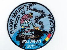 Fakir smurf Troop 10 Belgium  WSJ Japan 2015