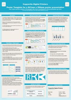 research poster templates | flyers templates scientific medical, Modern powerpoint