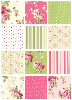 I love these fabrics from Tanya Whelan! Can't wait for this collection to be released!