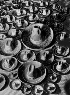 Margaret Bourke-White (1904-1971) Sombrero Ashtrays at Macy's Department Store, NYC, 1938