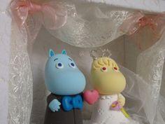 Cutest cake topper ever :D Nordic Wedding, Scandinavian Wedding, Scandinavian Style, Wedding Cake Toppers, Wedding Cakes, Chic Wedding, Our Wedding, Afternoon Tea Parties, Moomin