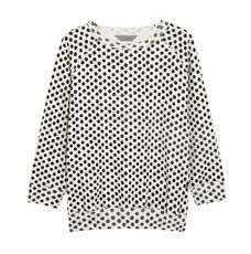 Mulberry Dotty cotton and cashmere-blend sweatshirt