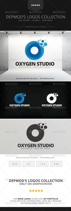 Oxygen Studio - Logo Design Template Vector #logotype Download it here: http://graphicriver.net/item/oxygen-studio-logo/7819777?s_rank=1717?ref=nexion