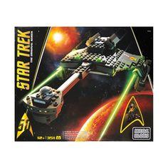 Mega Bloks Star Trek the Original Series - Klingon D7 Battle Cruiser: 351 Pcs