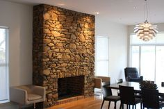 Fireplaces : Structural Landscaping : Home Cladding : Field Stone Constructions