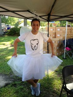 Ah... what a sight! The ever so beautiful Happy Tooth Fairy at the Blueberry Festival in Burgaw, NC.