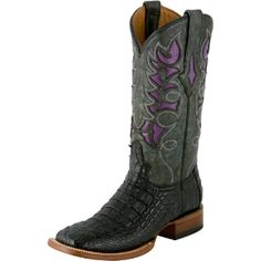 Resistol Ranch Hornback Caiman Cowgirl Boots