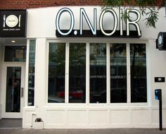 O Noir Restaurant in Montreal, Quebec.  Eat in the dark.