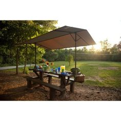 ShadeLogic Quick Cl& Canopy Tilt Mount Expandable to 10 Ft  sc 1 st  Pinterest & eCanopy.com - One Person Setup of Instant Canopy | Over Head ...