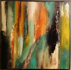Abstract Art Acrylic painting by Stefanie Seiler