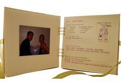Gästebuch mit Steckbrief für Hochzeitsgäste - SMILEBOX