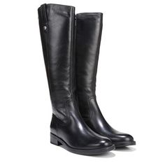 AQUA COLLEGE Elise Black Leather