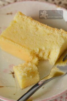 Bake for Happy Kids: Cotton Soft Japanese Cheesecake