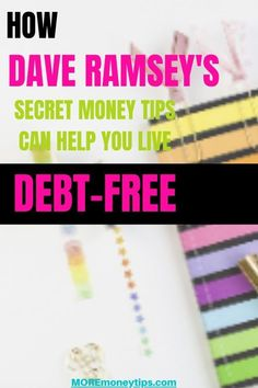 Dave Ramsey says this about the 7 behaviors towards becoming debt free. Learn what More Money Tips says you can DO to adopt the 7 debt-free behaviors. Debt Free Living, Go To Movies, Student Loan Debt, How To Become Rich, Dave Ramsey, Frugal Tips, Debt Payoff, How To Get Money, Money Management