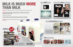 Concept Board Milk Store, Milk And More, Concept Board, Mood Boards, Creative Art, Presentation, Cannes, Advertising, Stickers