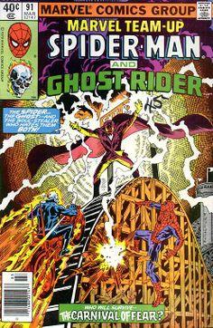 Marvel Team-Up # 91 by Rich Buckler & Al Milgrom