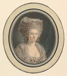 Mademoiselle Rose Bertin, Dressmaker to Marie-Antoinette. (In A Refuge Assured, Vivienne supplied lace to her before the French Revolution put lace out of style.)
