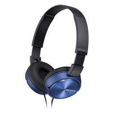 Tesco direct: Sony MDR-ZX310 On-Ear Headphones - Blue