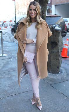 Julia Engel from New York Fashion Week Fall 2014 Street Style | E! Online