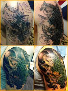 1st tribal cover up tattoo by JK / 도안,견적 및 수강문의는핸드폰:010-2120-0845,카톡아이디:jktattoo / 24시간 카톡상담 환영 / www.facebook.com/tattooatistjk