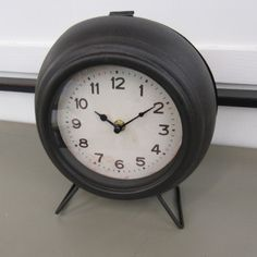 http://www.furniturewithasoul.com/houston/product/metal-mantle-clock/