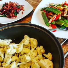 Lots of colours textures flavours and veggies in our dinner tonight - inspired by #JoiceOfCooking :) #healthychoices #healthycooking #healthyfood #family #familydinner #familyrecipe #pod