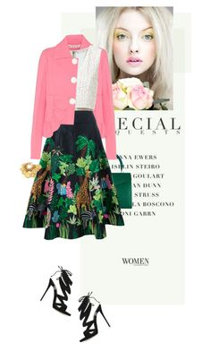 """""""Mother's Day Brunch Goals"""" by fashionmonkey1 ❤ liked on Polyvore featuring Ethan K, Giallo, Marni, Alice + Olivia, Manish Arora, Giuseppe Zanotti and Ben-Amun"""