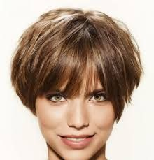 Short Professional Hairstyles for Thin Hair The most beautiful hair ideas, the most trend hairstyles Latest Short Haircuts, Short Shag Hairstyles, Hairstyles With Bangs, Short Thin Hair, Short Hair With Bangs, Short Hair Cuts, Medium Hair Styles, Curly Hair Styles, Wedge Haircut